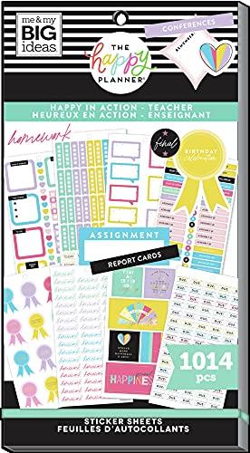 The Happy Planner Sticker Value Pack - Planner & School Accessories -...