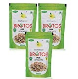 BROTOS Instant Mix Sprouts, Dehydrated, Gives 250 g Sprouts on Rehydration, Sprouts Masala