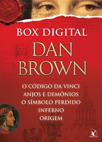 Box Robert Langdon: Anjos e demônios • O código Da Vinci • O símbolo perdido • Inferno • Origem