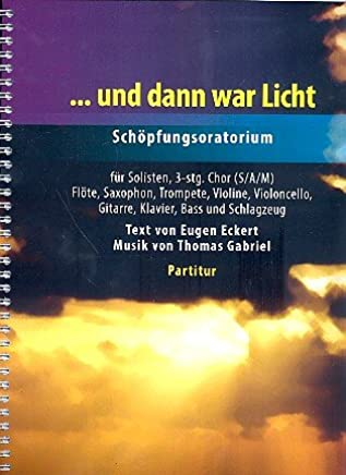 E poi War luce: per soli, Coro Gem (Sam) e strumenti