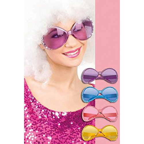 Boland 02554 party glasses chill rhinestone différentes couleurs
