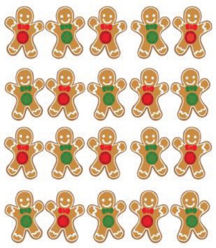 Jolee#039s Boutique Ginger Bread Dimensional Stickers