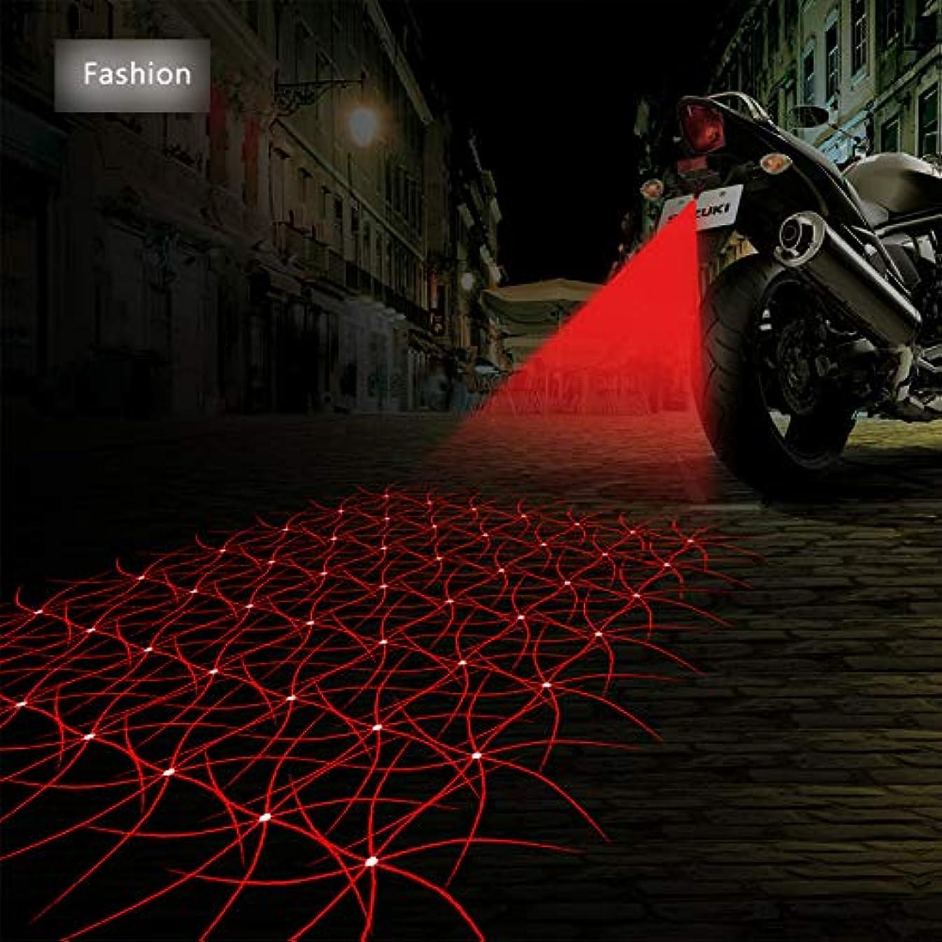 FOLCONROAD Anti Collision Rear-end Car Laser Tail Fog Light Auto Brake Parking Lamp Rearing Warning Light Motorcycle[Fashion][US Warehouse]