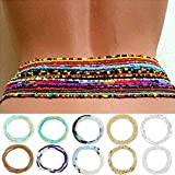 Sethain Moda Rosario Cintura Cadena africano Vientre Talón Cadena del cuerpo playa 10 piezas Cintura Joyas El verano Accesorios para el cuerpo para mujeres Perdida de peso