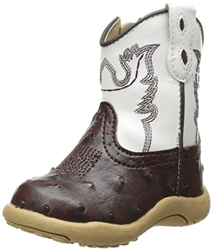 Roper unisex child Bumps - K boots, Tan, 4 Infant US