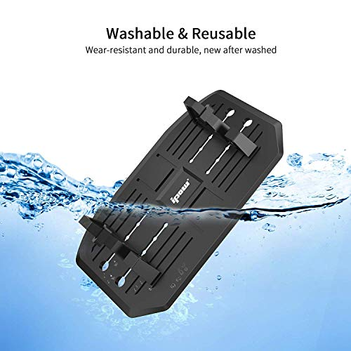 Second Generation,IPOW Car Silicone Pad Dash Mat Cell Phone Mount Holder Cradle Dock For Smartphones Table PC