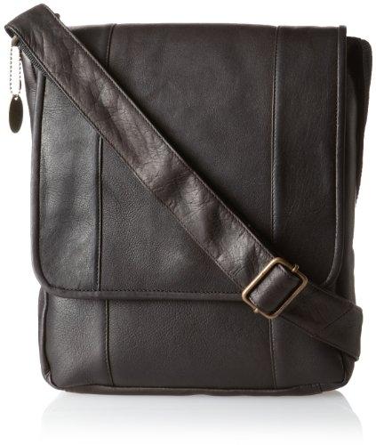 David King & Co. Vertical Mans Bag Café One Size