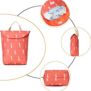 SUHAPPY Diaper Bag Large Water Resistant Portable Outdoor Baby Nappy Handbag