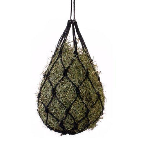 Horze Cotton Hay Net, Black by Horze