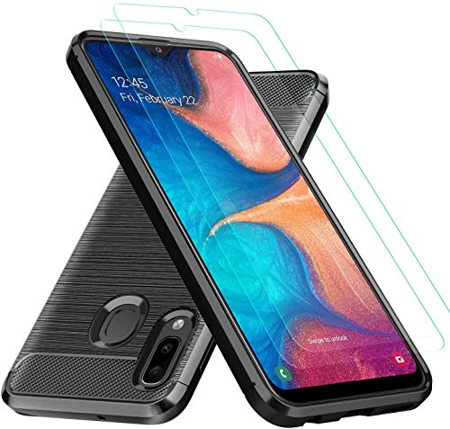 Galaxy A10e Clear Case with Screen Protector by BEBEST