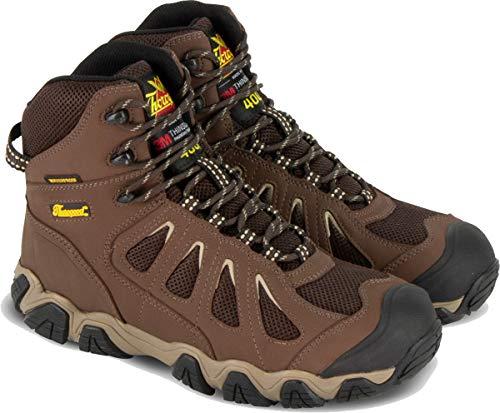 "Thorogood 864-4078 Men's Crosstrex Series - 6"" 400g Insulated Waterproof Hiker Boot, Brown - 11 W US"