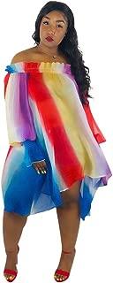 Best rainbow colored sundress Reviews