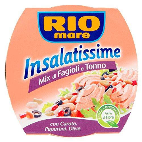 Rio Mare Insalatissime Mix di Fagioli e Tonno Pinne Gialle...
