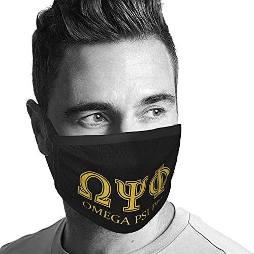 Mouth Shield Omega Psi Phi Anime Cycling Windproof Women Camping Men Mouth Scarf Sun Protection Unique Dustproof Adjustable Reusable Face Protection Outdoor Travel Mouth Protection
