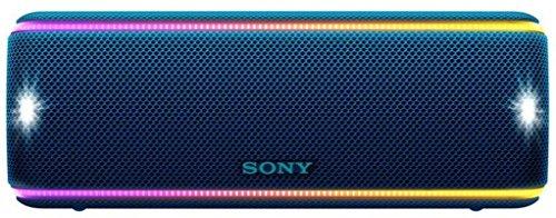 Sony SRS-XB31 Portable Wireless Bluetooth Speaker, Blue (SRSXB31/LI)