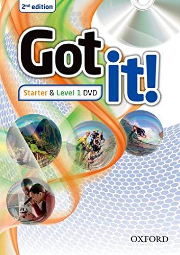 GOT IT! STARTER & 1 DVD - 2ND ED