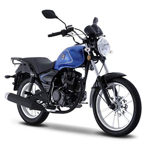 Motocicleta Italika de Chopper- Modelo RC 150 Azul