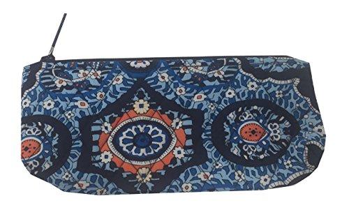 Vera Bradley Brush & Pencil Cosmetic / School Travel Case (One size, Marrakesh)