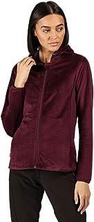 Regatta Women's Siddington Stretch Side Panels Hooded Softshell Jacket Fleece, Prune/Prune, 8