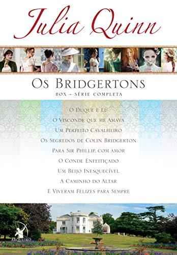 Box Os Bridgertons: Série completa com os 9 títulos (Portuguese Edition)