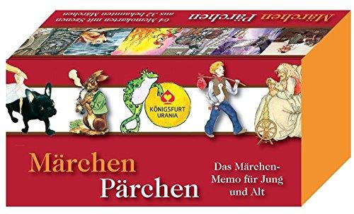 Königsfurt-Urania Märchen-Pärchen: Das Märchen-Memo für Jung und Alt. 64 Memo-Karten.