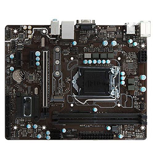 BEROVE Fit for MSI B250M 1151 I7 / I5 / I3 DDR4 32GB B250, Placa Base de Escritorio, Juego de Placa Base, PC