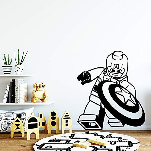 yaonuli creatieve Kapitän muursticker vinyl kinderkamer muursticker kunst sticker