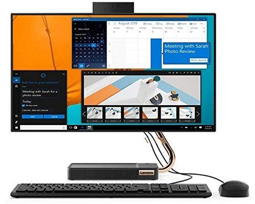 Lenovo IdeaCentre A540-24API 60,4 cm (23,8 Zoll) Full HD All in One Desktop Computer (AMD Ryzen 5 3400GE, 512GB PCIe SSD, 1TB HDD, 8GB RAM, WLAN, Webcam, AMD Radeon Vega 11 Grafik, Win 10 Home)