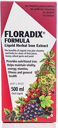 Floradix Liquid Iron Formula 500ML