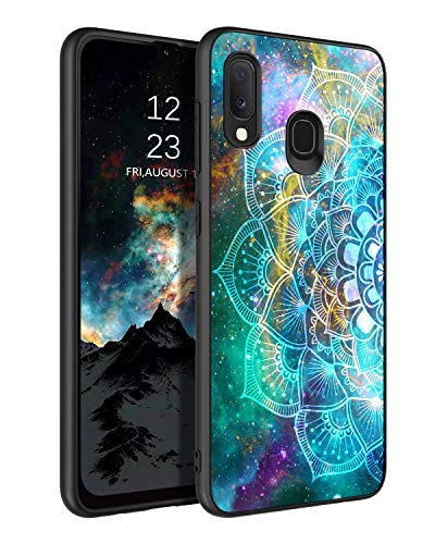 BENTOBEN Funda Samsung A20e, Carcasa Samsung Galaxy A20e Cover Ultra Delgada Nebulosa Resistente Silicona Suave PC Dura Protectora Cuero Completa Fundas para Samsung Galaxy A20e 5,8''-Nebulosa