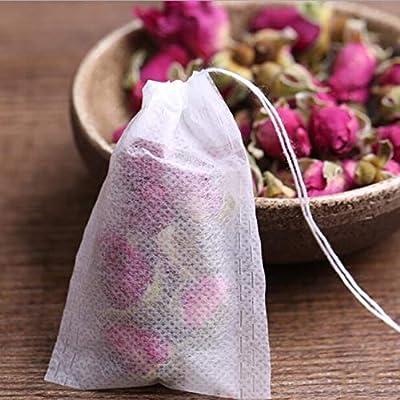 Dongyush Bonbons Tea Bags Infuseur à Thé Thé Thé Filtre Herbal Spice Tea Bags Papier Tea Bags