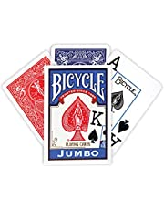 Bicycle® Rider Back International Jumbo Index Playing Cards