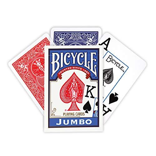 BICYCLE(バイスクル) ジャンボインデックス トランプ 赤
