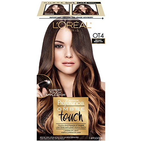 L'Oreal Paris Superior Preference Ombre Touch, OT4 Dark Brown (Packaging May Vary)
