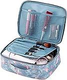 Tpocean Trousse de rangement d'accessoires de beauté pour voyager pour femmes et jeunes filles
