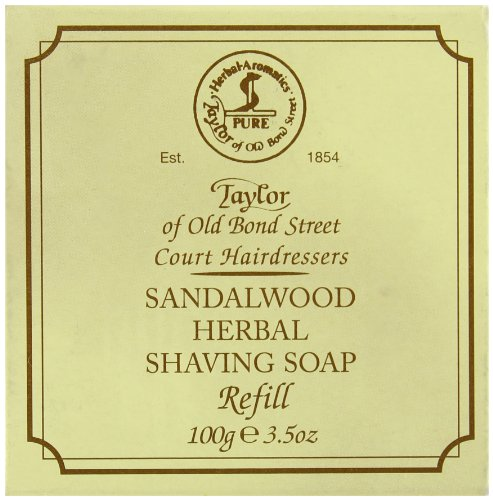 Recharge de Savon à Barbe Sandalwood 100g - Taylor