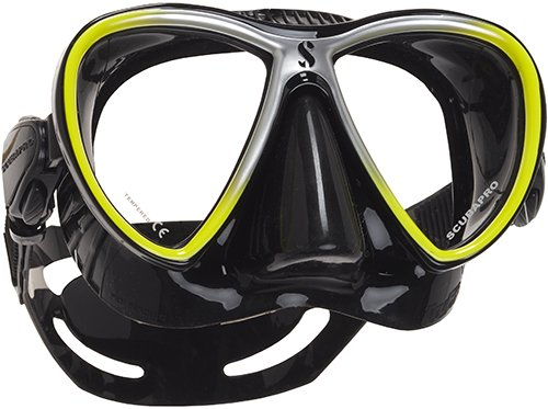 Scubapro SYNERGY TWIN duikmasker (black-yellow)