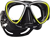 Scubapro SYNERGY TWIN Tauchmaske (black-yellow)