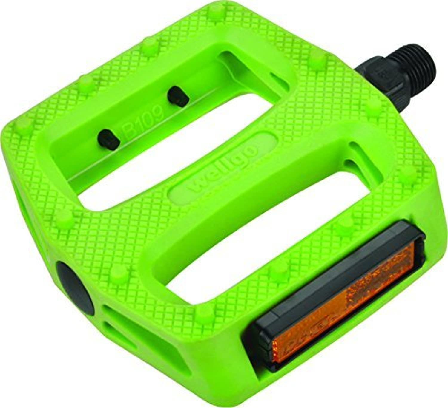 Curb Dog Composite Deluxe 9 16 Green Pedal BMX