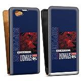 DeinDesign Étui Compatible avec Sony Xperia Z1 Compact Étui à Rabat Étui magnétique Produit...