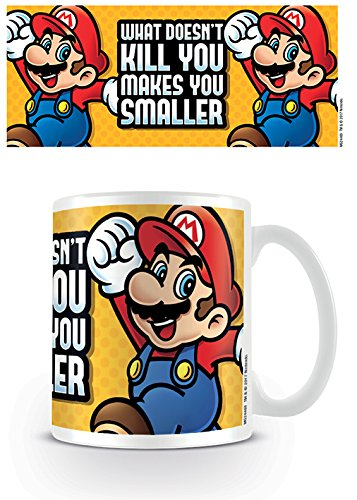 Pyramid International super Mario (Ti rende più piccolo) ufficiale inscatolato ceramica tazza da...