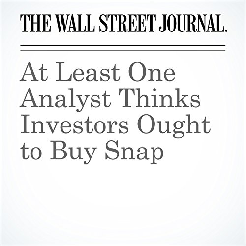 At Least One Analyst Thinks Investors Ought to Buy Snap copertina