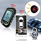 2 Way LCD Car Alarm Security System with Remote Start System Mobile Phone