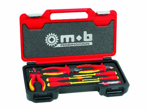 Peddinghaus 9436008001 Coffret De Maintenance Electrique, Rouge