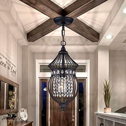 Black Chandeliers Crystal Chandelier Lighting Farmhouse Lighting Fixtures 1 Light 17045