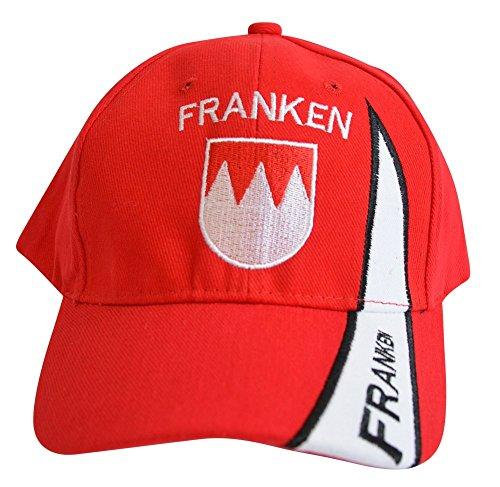 Kappe Motiv Deutschland Franken Fahne, fan - Cap mit fränkischer Fahne