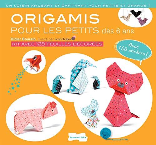 Origami pour les petits - nouvelle édition (Hors collection Dessain et Tolra)