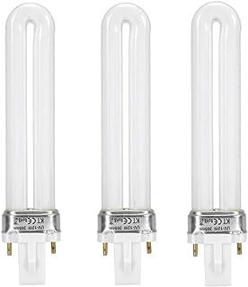 Dewin - U型 UVライト uv蛍光管 交換用ライト UVランプ交換用電球 替え電球 12W (3本)