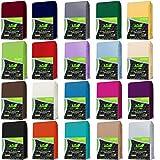 AR Line 2er Pack Jersey Kissenbezug mit Reißverschluss 100% BW 160 Gr/m² Kissenhülle,...