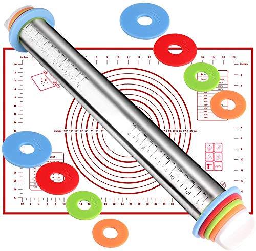 Rotulador ajustable con anillo de espesor y esterilla de pasta, set para...